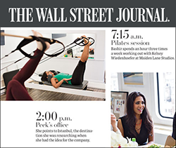 Wall Street Journal Feature