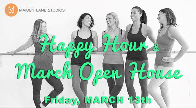 Open House and Friday the 13th Happy Hour