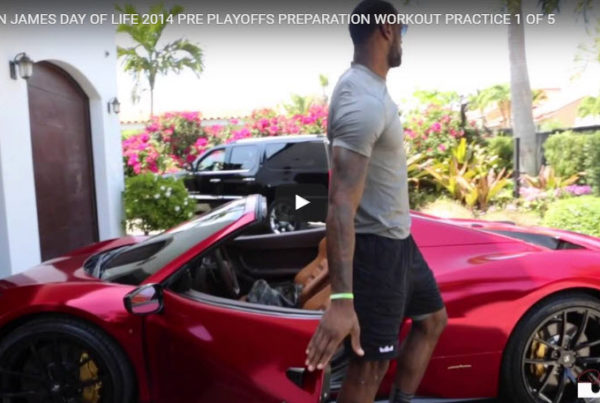 Lebron James Pilates in San Francisco