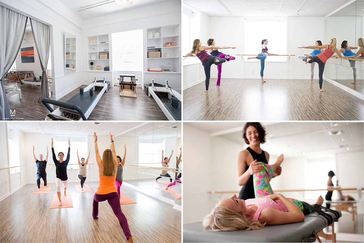 Pilates, barre, yoga, fascial stretch therapy in San Francisco