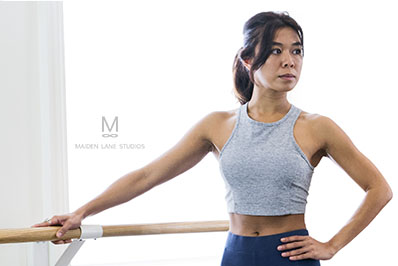 Barre instructor in San Francisco